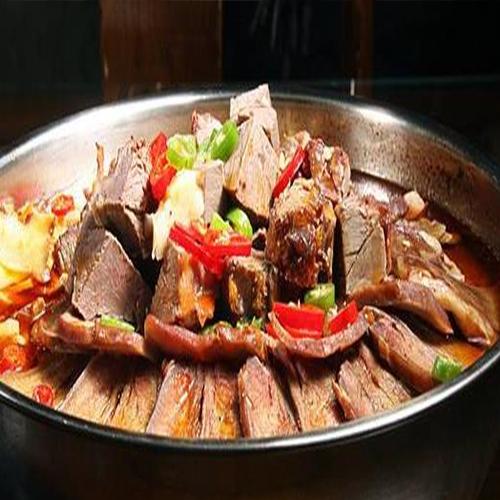 大锅炖驴肉